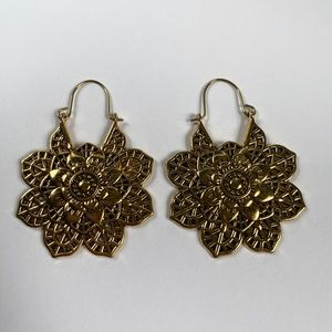 Vintage boho dangle earrings